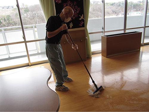 就労継続支援B型「清掃」