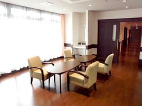 リビング・談話スペースの写真